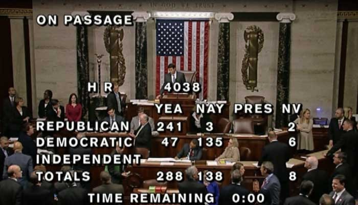 House Passes Bill To Pause Syrian Refugee Program