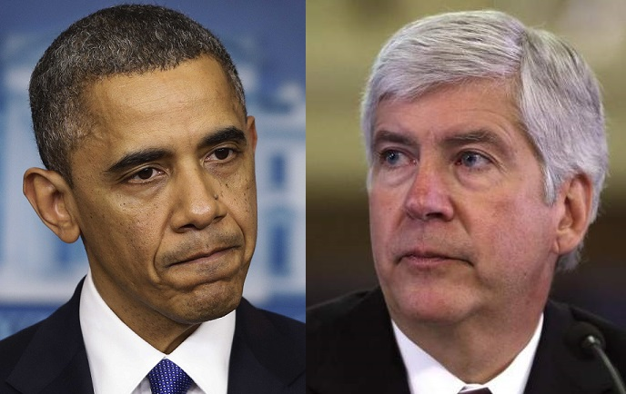Michigan Gov. Rick Snyder Takes A Bold Stance Against Obama's Refugee Initiative