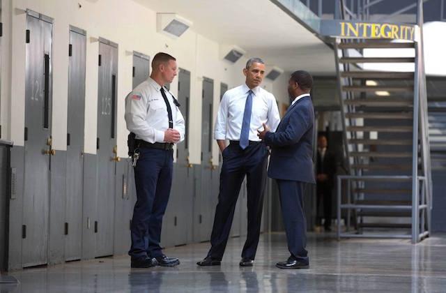 President Obama visited prison 7-17-15