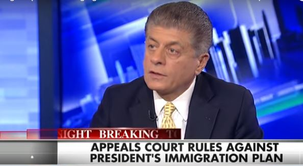 Judge Napolitano: Court Ruling Against Obama's Exec Order Leaves Admin 1 Option (video)