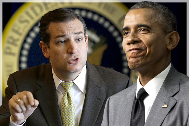 Ted Cruz To Obama: Easy For You To Do From Overseas, 'Come Insult Me To My Face' (Video)