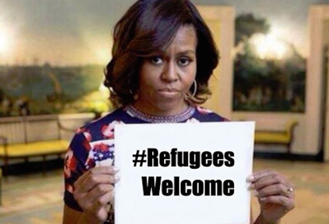 DEFIANT Barack And Michelle Obama Launch #RefugeesWelcome Hashtag