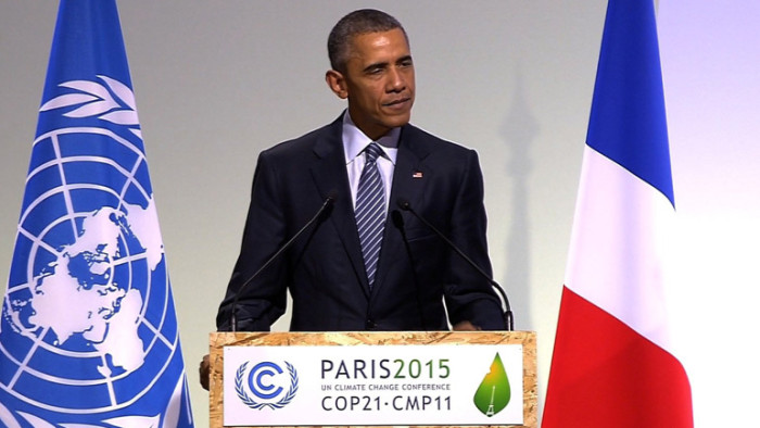 Obama: 'Embracing Climate Change Equivalent To Fighting Terrorism'