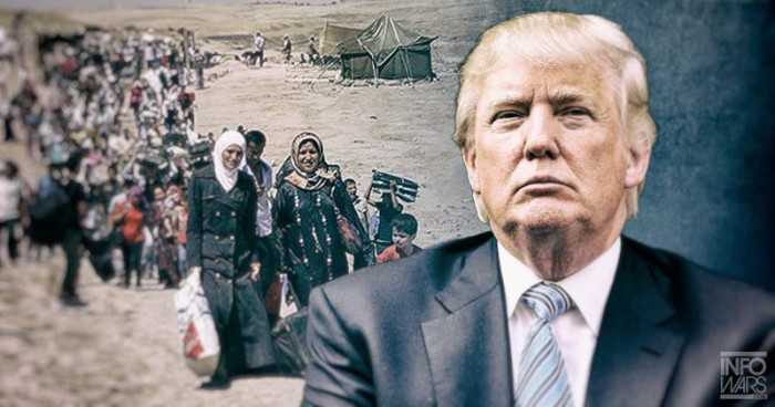 Donald Trump To Syrian Refugees:  'I Win, You're Going Back!'