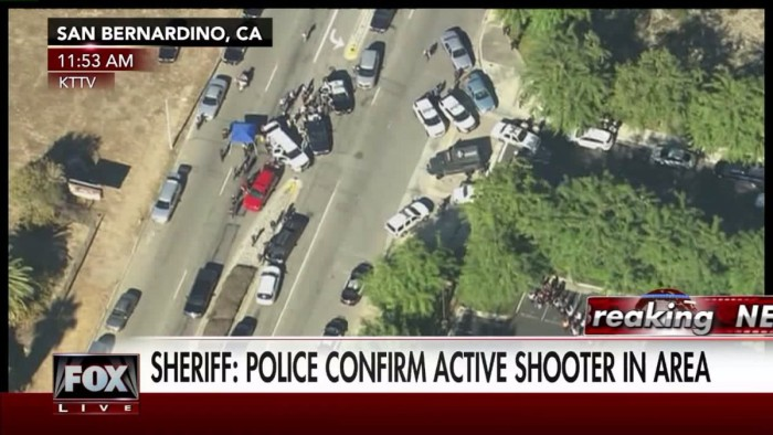 California Police Respond To Active Shooters With Upwards Of '20 Victims'