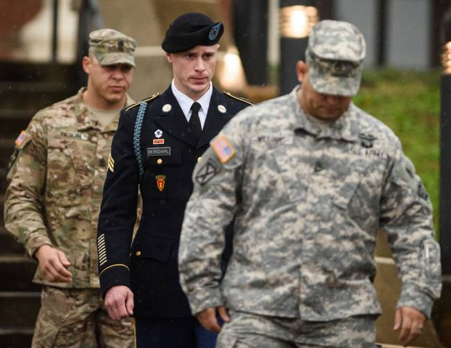 Bowe Bergdahl Arraigned At North Carolina Army Base (Video)