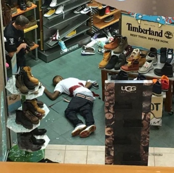 "Black Lives Matter Thug Who Tweeted ""Kill Whites"" Shot Dead At Northlake Mall"