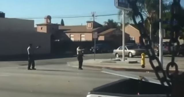 Los Angeles BLACK Community Will RIOT – SHOCKING Video: Cops Kill BLACK Man CRAWLING Away