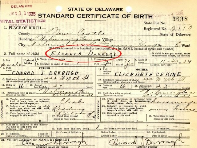 EXCLUSIVE: Birth Certificate For Ted Cruz's Mother Surfaces