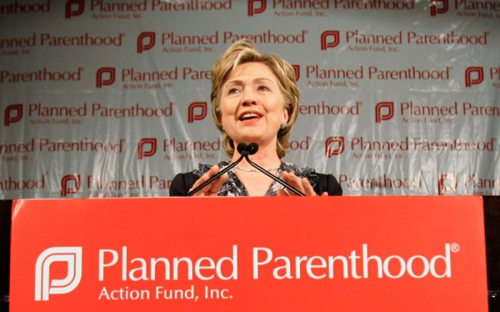 Hillary Clinton: 'If President, I Will Give Planned Parenthood MORE Taxpayer Funds'