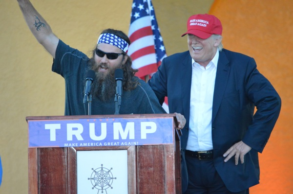 Duck Dynasty's Willie Robertson Endorses Donald Trump, 'A Real Leader'