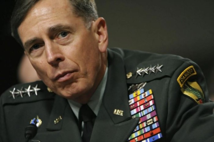 Good News For Disgraced Gen. Petraeus, CIA Chief Who Leaked State Secrets