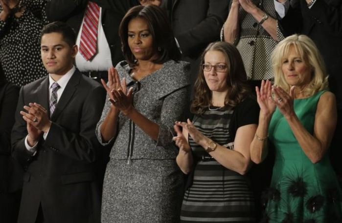 Syrian Refugee Among Michelle Obama's Guests For State Of Union