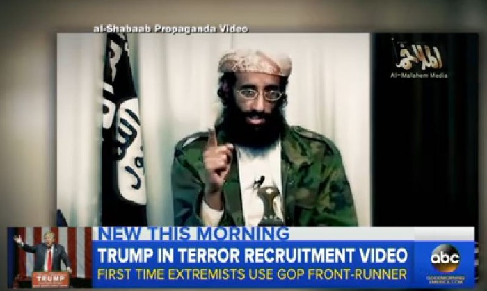 WATCH Al-Shabaab Releases Recruitment Video Featuring Donald Trump