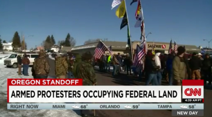 Armed Group's Leader In Federal Building: 'We Will Be Here As Long As It Takes' (Video)