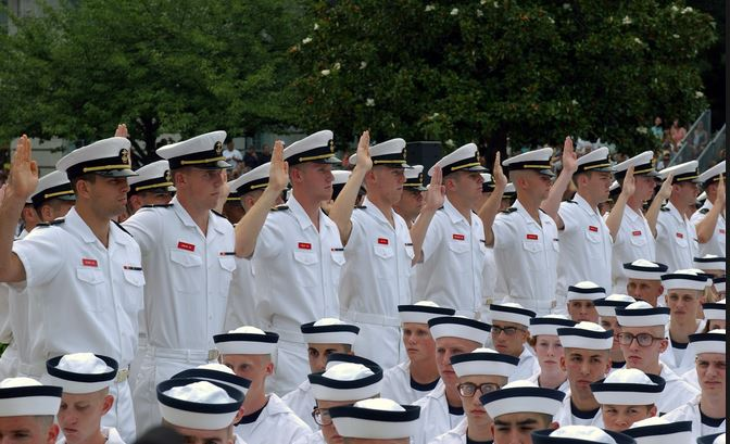 Midship-Person?! Officials Look At Removing 'Man' From Military Titles (Video)