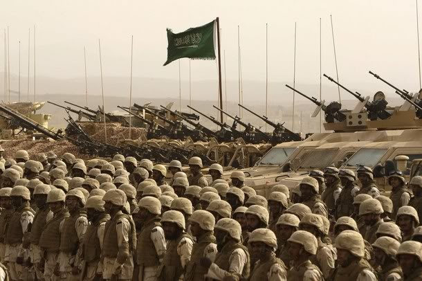 World War 3 Could Start This Month: 350,000 Soldiers In Saudi Arabia Stand Ready To Invade Syria