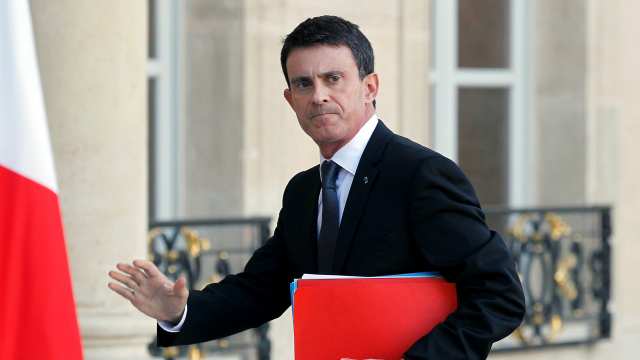 Major Attacks In Europe 'a certainty', Says French PM Valls