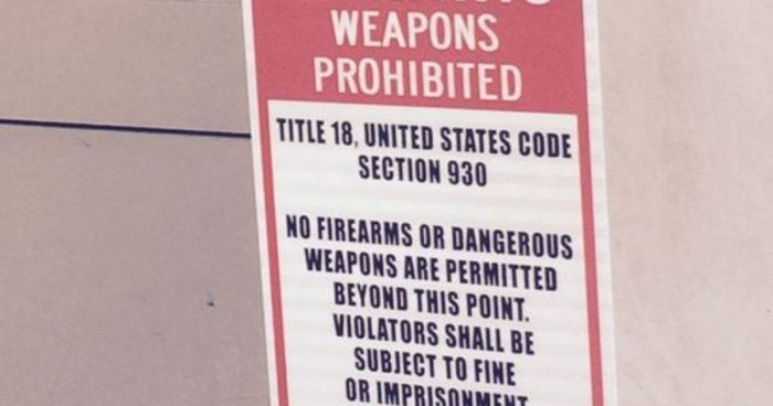 After 28 years, Secret Service Posts Warning: No Guns In White House