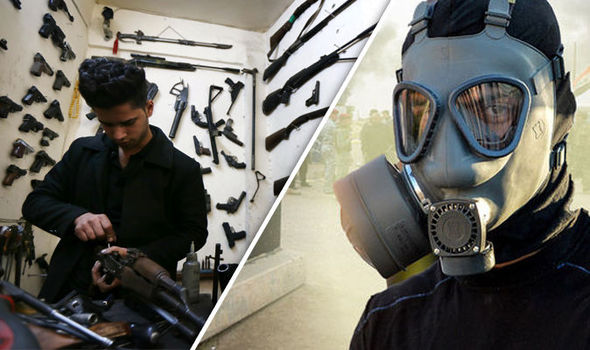 Chemical Warfare Unreleased As ISIS Fires Rockets 'Containing Chlorine'
