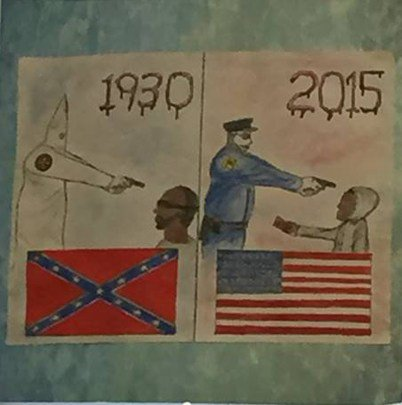 He Walked Into His Daughter's Classroom—That's When He Saw The 'Anti-Police' Art…