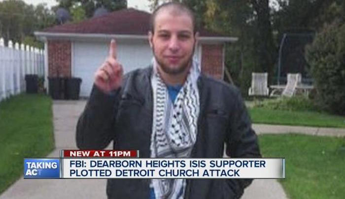 Man Accused Of IS-inspired Plot To Attack Detroit Church