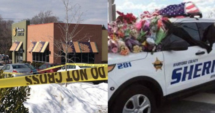 Maryland Deputy Shot And Killed In Gun-Free Panera Bread