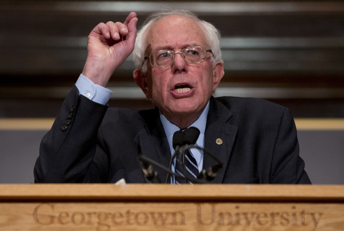 Bernie Sanders: It's 'Improper To Turn Our Backs' On Syrian Refugees