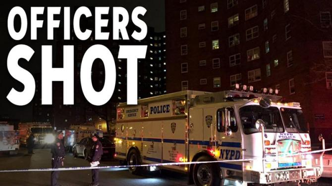 Two NYPD Officers Shot-Alleged Gunman 'Had More Than a Dozen' Priors