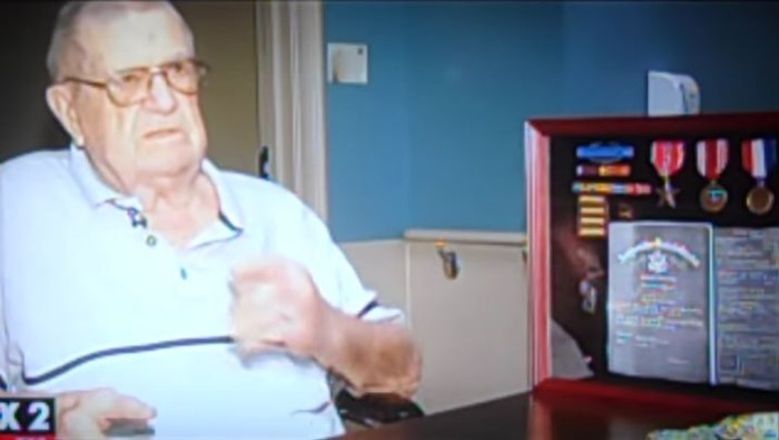 VA Demands Proof World War II Combat Vet With Purple Heart Served In Military (Video)