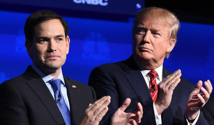 Rivals Now Target Rubio; Trump Calls For An Iowa Do-Over