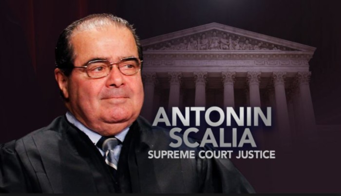 Scalia Found Dead Of 'Natural Causes' With 'Pillow Over His Head'
