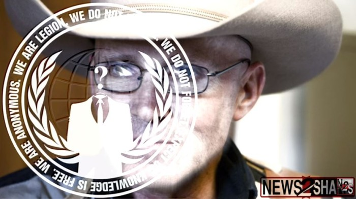 'ANONYMOUS' Calls For Justice In Murder Of LaVoy Finicum, Issues CHILLING Message To FBI