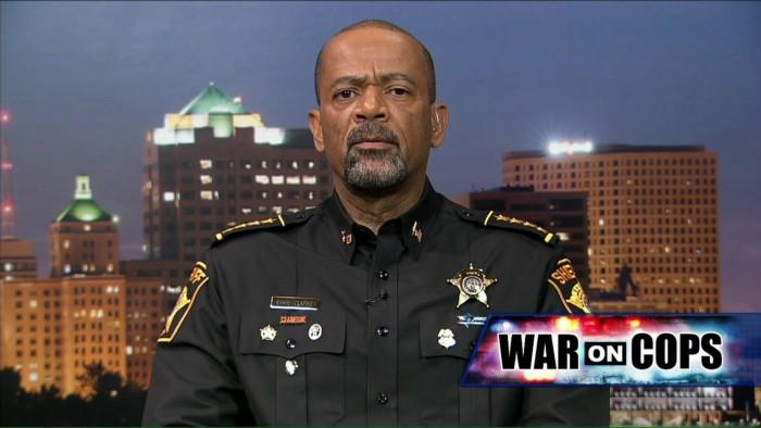 Sheriff David Clarke Posts Video of John Kasich Calling Cop an Idiot (Video)