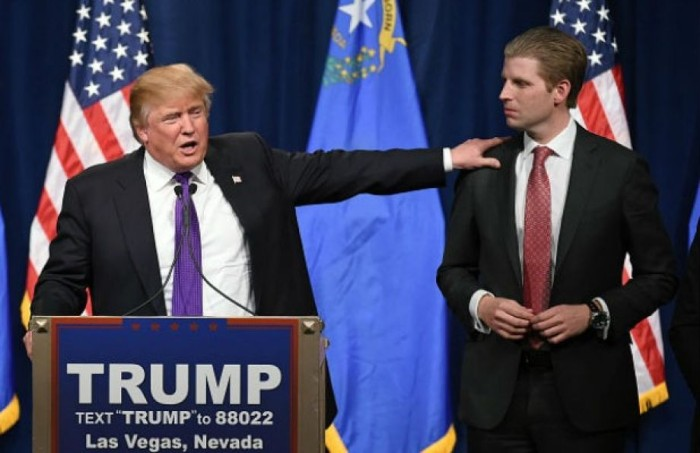 BREAKING-Envelope With White Powder, Threatening Note Sent To Trump's Son (Video)