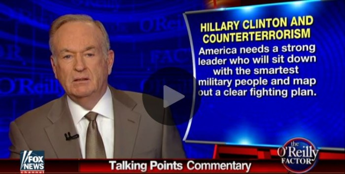 'No Concrete Action to Defeat the Savages': O'Reilly Takes Hillary to Task Over ISIS Speech