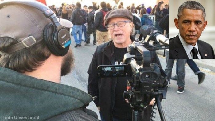 Obama's Ally And Domestic Terrorist Bill Ayers Led Chicago Violence At Trump Rally (Video)
