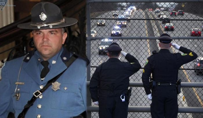 STATE TROOPER Who Was A Combat Veteran Killed By A Kenyan Illegal Alien