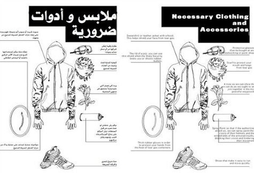 Black Lives Matter Organizer Posts Guide To Riotwear… In ARABIC!