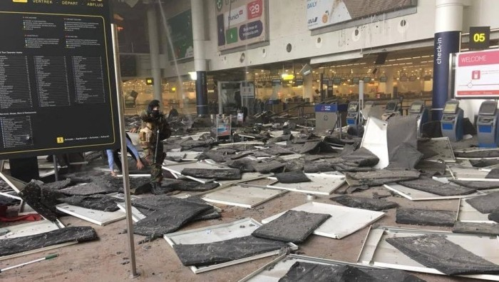 At Least 26 Dead As Blasts Rock Brussels Airport, Metro