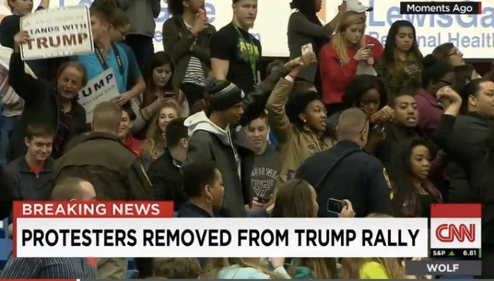 EPIC: Donald Trump To Black Lives Matter Protesters: 'ALL LIVES MATTER!' (Video)