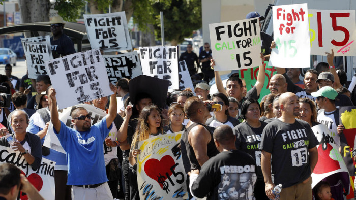 California Lawmakers, Unions Reach Deal To Lift Minimum Wage To $15 An Hour