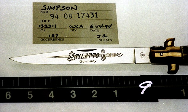 Knife Found On OJ Simpson Property Being Tested By LAPD