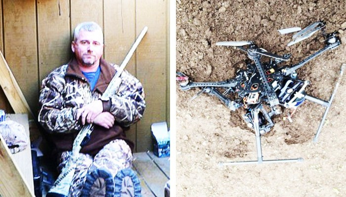 Judge Rules In Favor Of Man Who Shot Down Drone For Hovering In Backyard (Video)