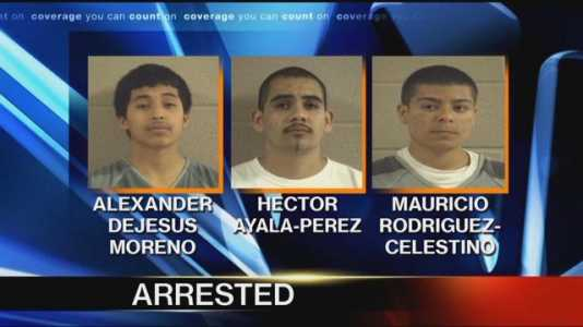 HISPANIC GANG MEMBERS Arrested After Crumpling Trump Yard Sign And Pulling Gun On Trump Supporter (Video)