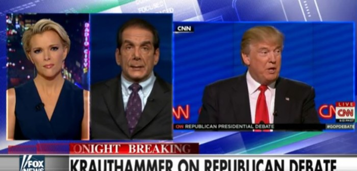 Krauthammer: Trump's Opponents May Have 'Run Out of Bullets' (Video)