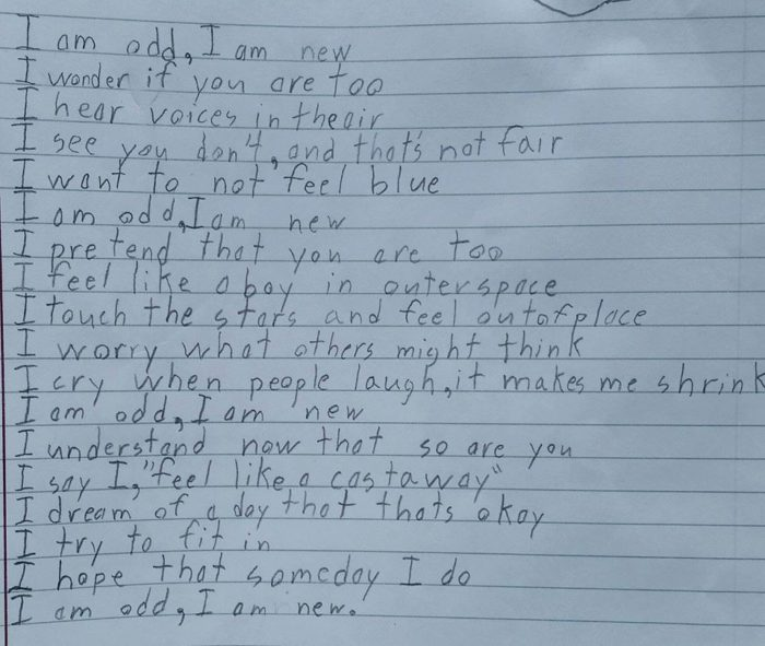 READ: A Boy With Autism's Incredibly Honest Poem Is Going Viral