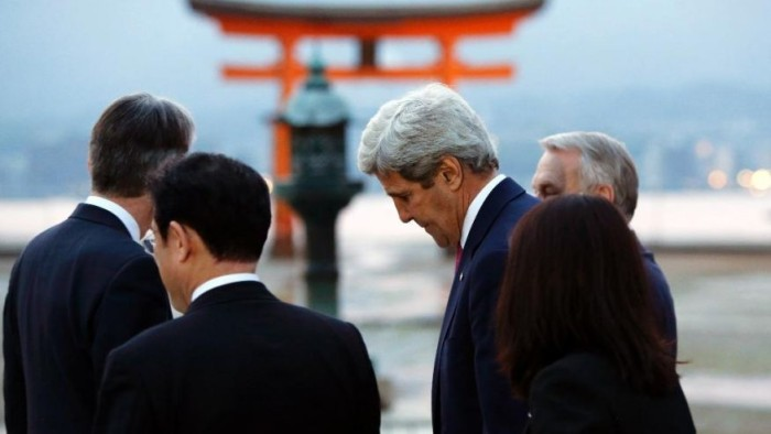 John Kerry: No Apology For Wartime Atomic Bomb On Hiroshima Visit