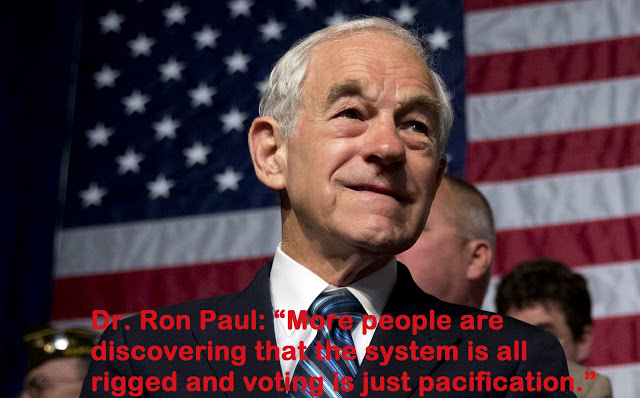 Ron Paul Bombshell: All US Elections Are Rigged (Video)