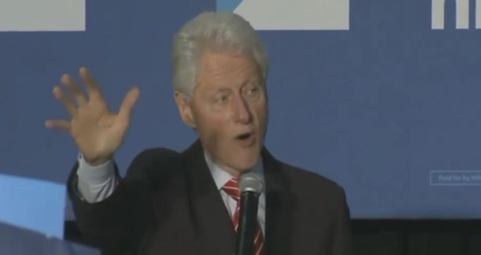 Bill Clinton Battles Black Lives Matter Protesters In Philly: 'They're Afraid Of The Truth!' (Video)